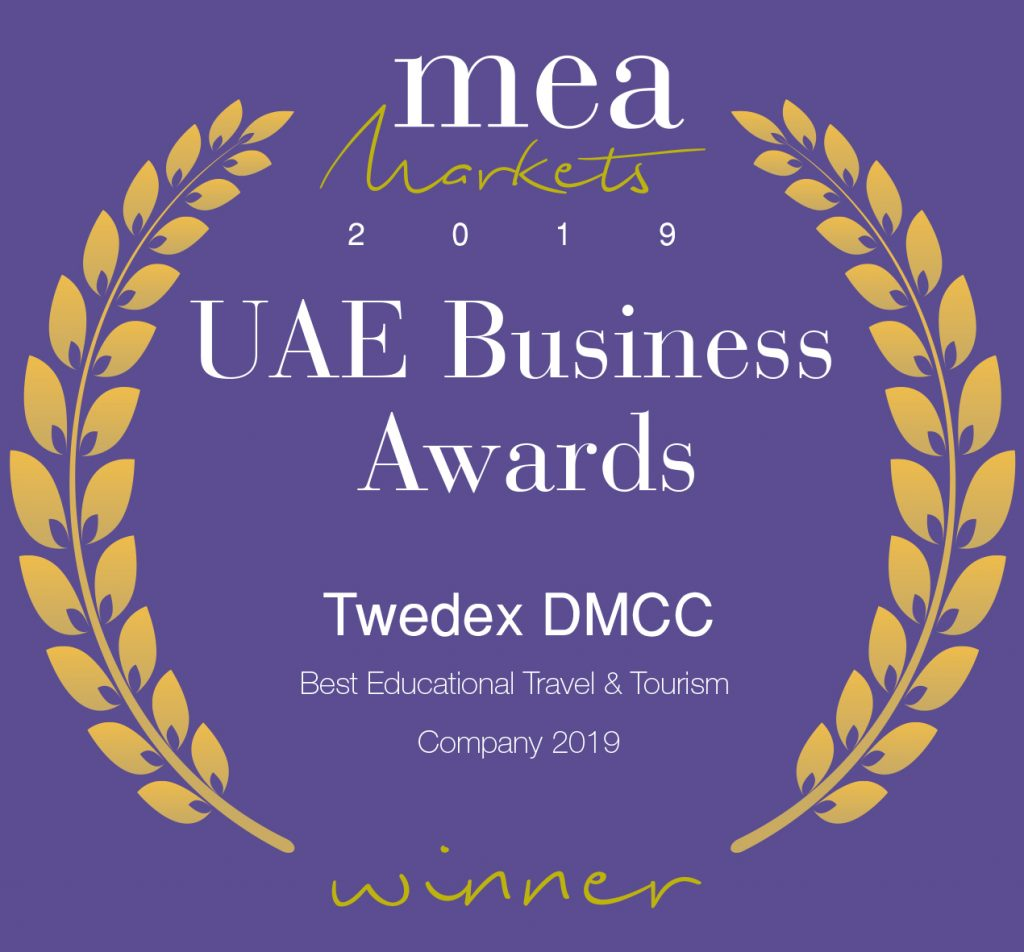 Twedex Crowned Best Educational Travel & Tourism Company 2019