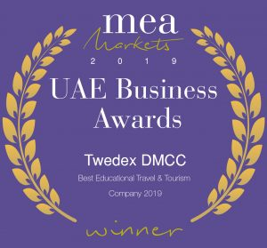 UAE Business Awards Winner - TWEDEX