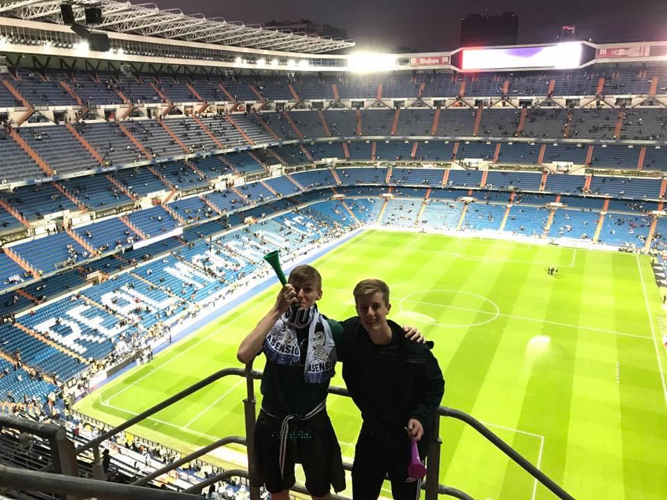 Real Madrid Santiago Bernabeu Twedex football tours