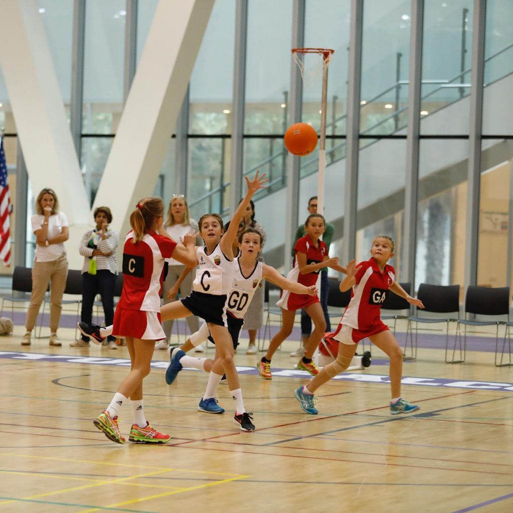 BSME Netball Tournament Not Stopped By Weather