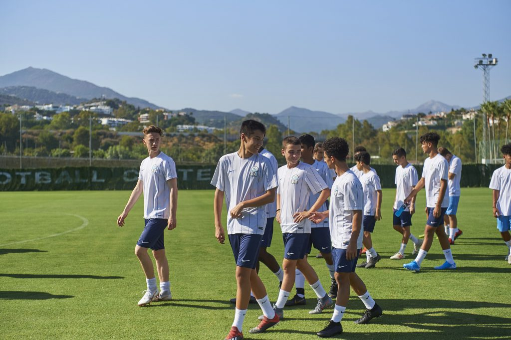 Players from du LaLiga High Performance Centre Talent Scouted