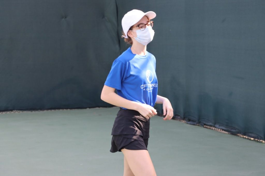 CF Tennis Academy Back on Court