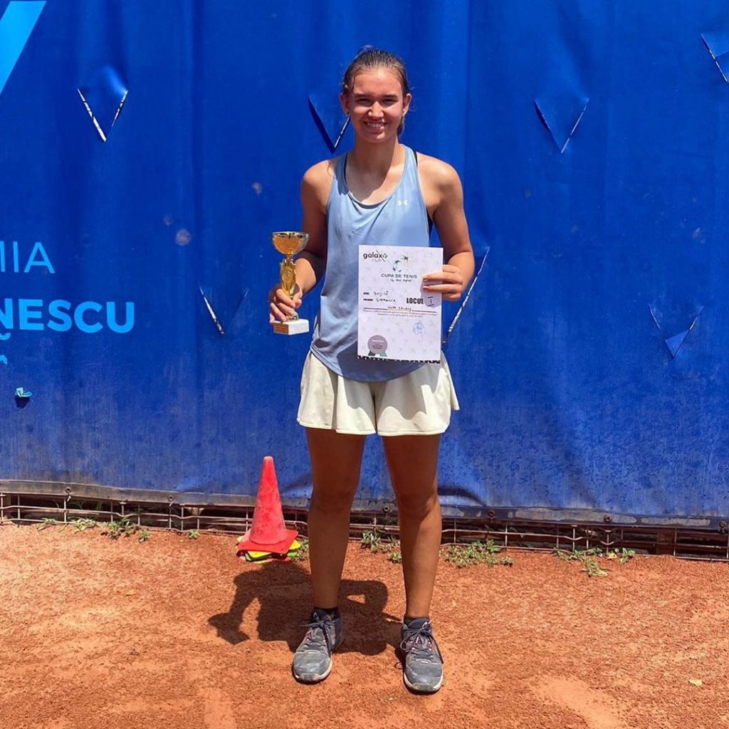 Stefi Bojica Romanian National U16 Title Holder