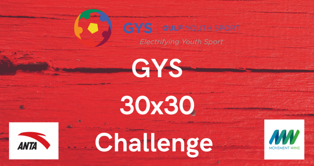 Sign Up For the GYS 30 x 30 Challenge