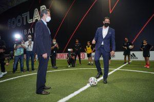 Rui Costa and Hussein Murad open FOOTLAB Dubai