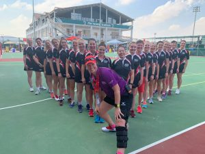 Sara represented the UAE Netball national team whilst battling cancer