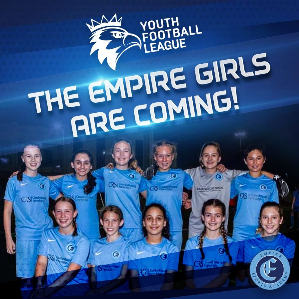 Empire Girls Set to Take the YFL by Storm
