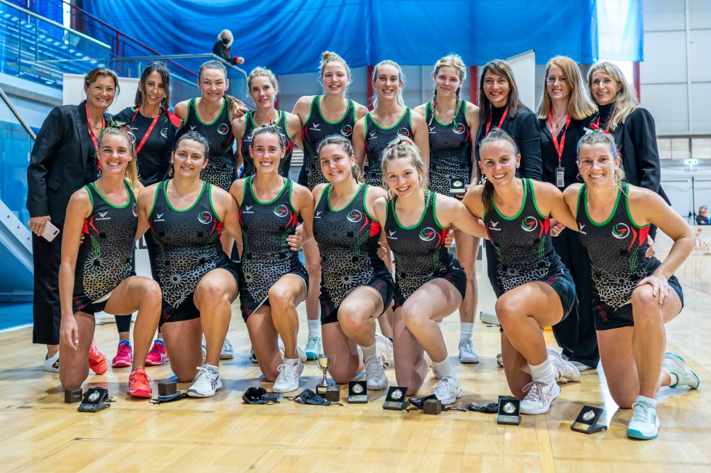 UAE Falcons Take Gold at Europe Netball Open Challenge