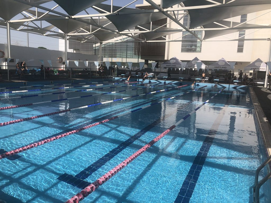 School Swimming Returns at Hartland International School